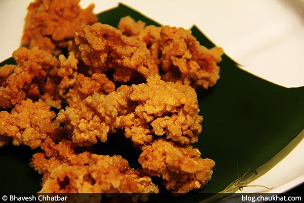 Close-up of Arisi Vadagam at Savya Rasa [Koregaon Park, Pune]