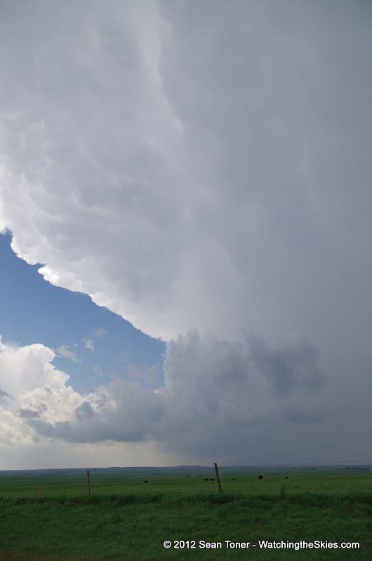 04-14-12 Oklahoma & Kansas Storm Chase - High Risk - IMGP0358.JPG