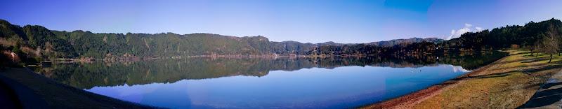 Panorámica del lago de Furnas