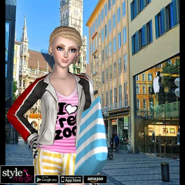 Style Me Girl Level 66 - Stripes - Annie