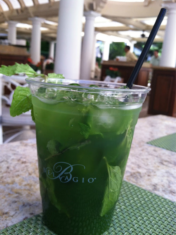 Drinks at the Bellagio