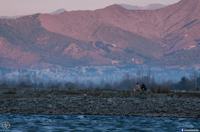Morning at Swat River, FizzaGhat, Swat.