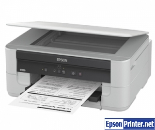 How to reset Epson K200 by program