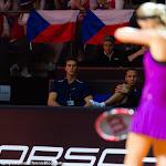 STUTTGART, GERMANY - APRIL 19 : Petra Kvitova in action at the 2016 Porsche Tennis Grand Prix