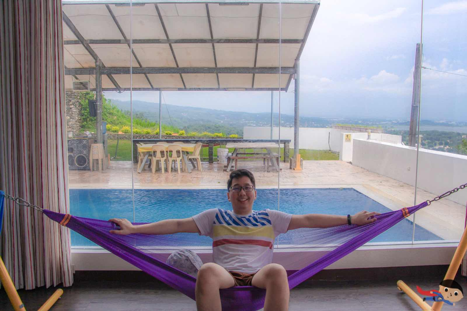 Renz Cheng in Jamaica Peak Resort