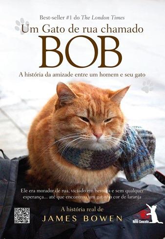 Um Gato de Rua Chamado Bob - Capa