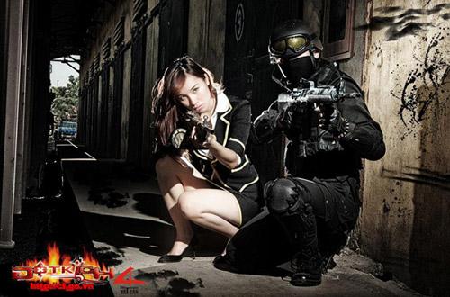Game thủ Việt tung ảnh cosplay về Đột Kích 8