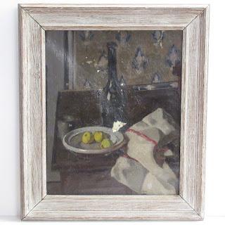 Charles-François-Prosper Guérin Signed Oil Painting