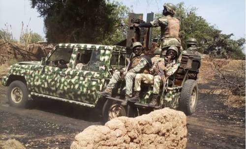 Soldiers, Bello Abubakar & Oyediran Adedotun Kidnapped By Bandits In Borno
