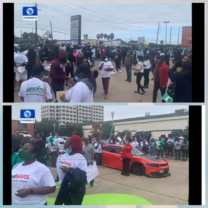 Nigerians In Houston Call For End To Police Brutality And Bad Governance