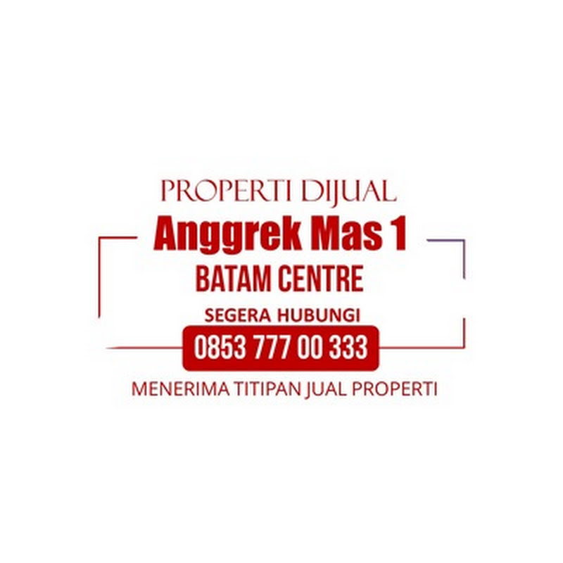 ANGGREK MAS 1 | Dijual Disewakan Rumah | Rumah Batam Centre, Batam