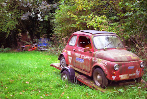 Abandoned Fiat 500