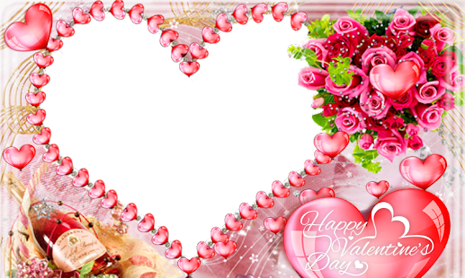 Valentine\'s Day Photo Frames - Apps on Google Play