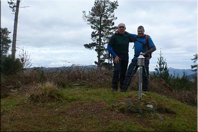 Gorabea (Astobitza)mendiaren gailurra 579 m. -- 2016ko martxoaren 20an