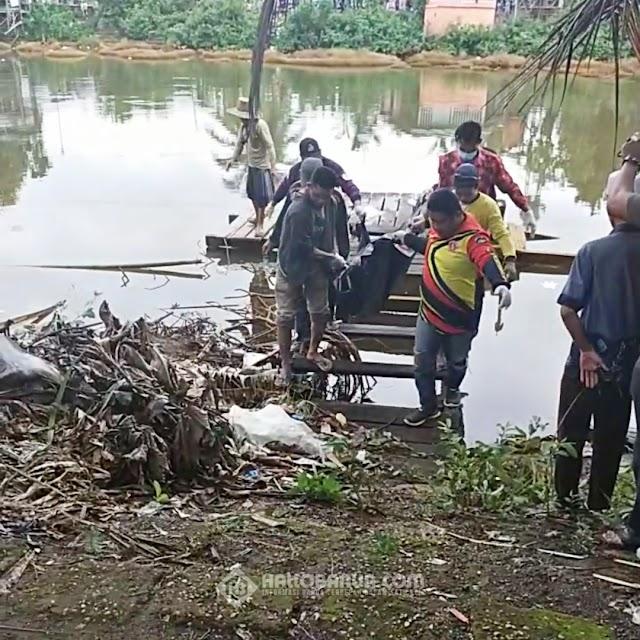 Mayat Ditemukan Mengapung di Sungai Wilayah Anjir Pal 15 Handil Minting Batola