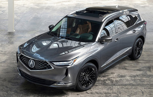 2022 acura mdx: the production version is here - car on