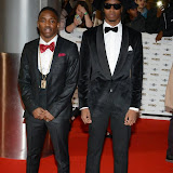 WWW.ENTSIMAGES.COM -   Krept and Konan  arriving at        MOBO Awards 2014 at SSE Arena Wembley October 22nd 2014Annual awards show recognising the best in urban music which is supported by HTC.                                                Photo Mobis Photos/OIC 0203 174 1069