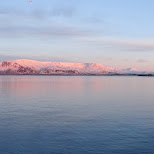 north view panorama from Reykjavik in Reykjavik, Hofuoborgarsvaeoi, Iceland