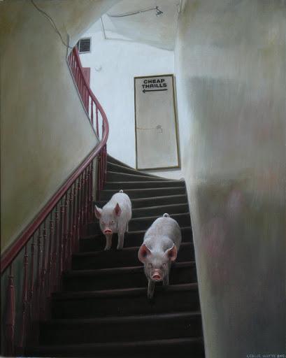 Cheap Thrills. Artist Leslie Watts