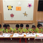 Star Day Celebrated by Nursery Evening Section at Witty World - Chikoowadi (2017-18)