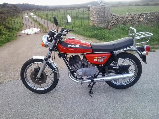 Benelli Motobi 250 2c Combustible