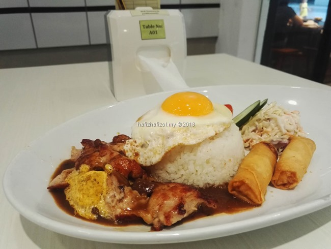 Chicken Chop with Rice