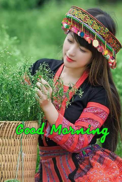 Beautiful Girl Good Morning