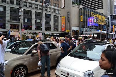 Fiat 500 experiential event