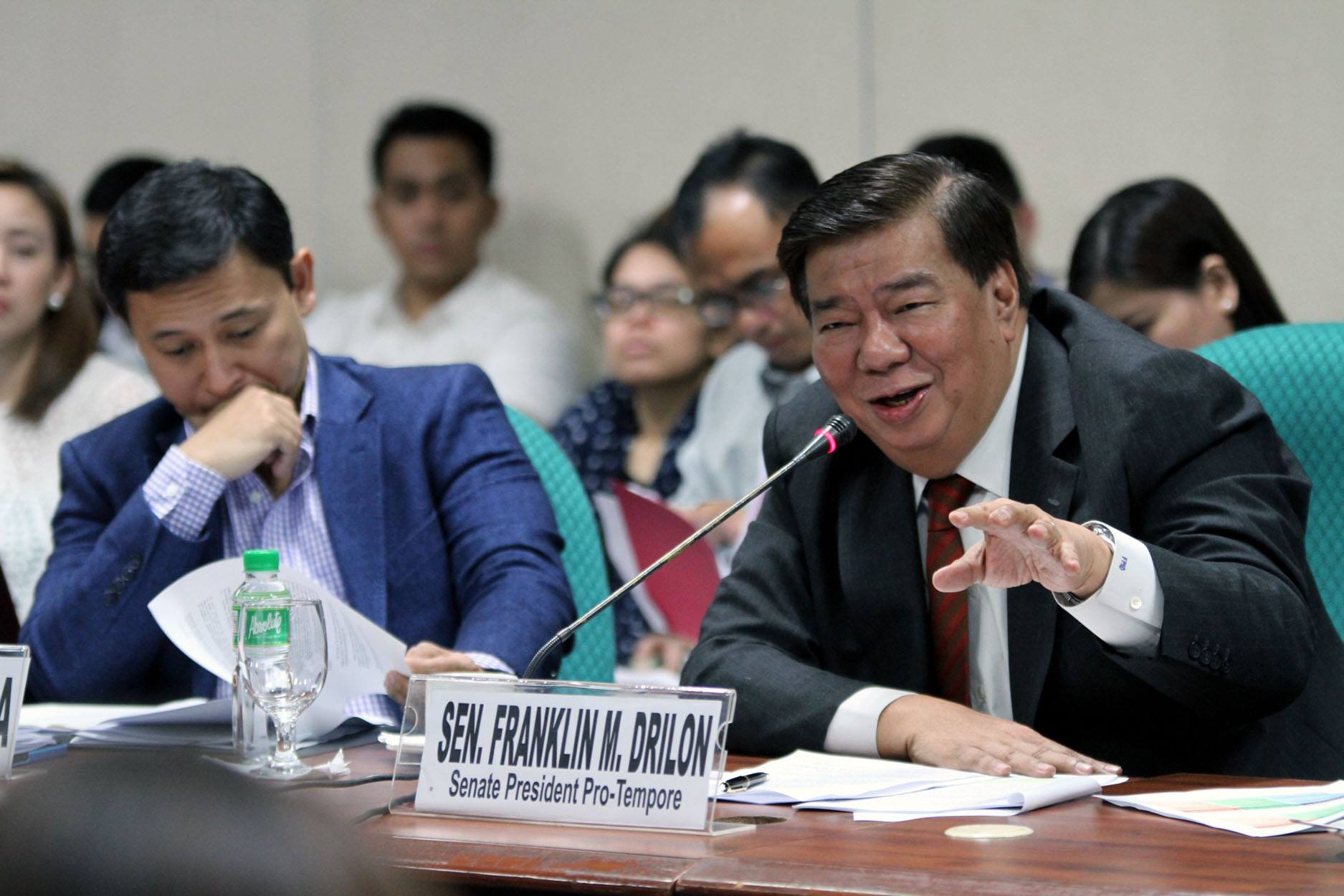 Image of Senator Franklin Drilon has an interrogative statement pertaining to the President Duterte's declaration of 'State of Lawlessness' saying that the terror attack committed by the Abu Sayyaf Group (ASG) was just an isolated incident.