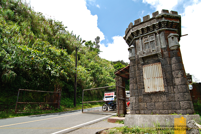 Palace-Like Gates at Tagaytay's People's Park in the Sky