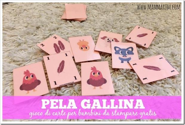 gioco di carte per bambini da stampare gratis