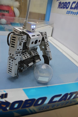 robot catch game, robot and ball, games with robots