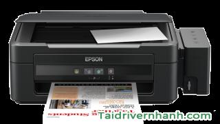 Download và setup driver máy in Epson L210