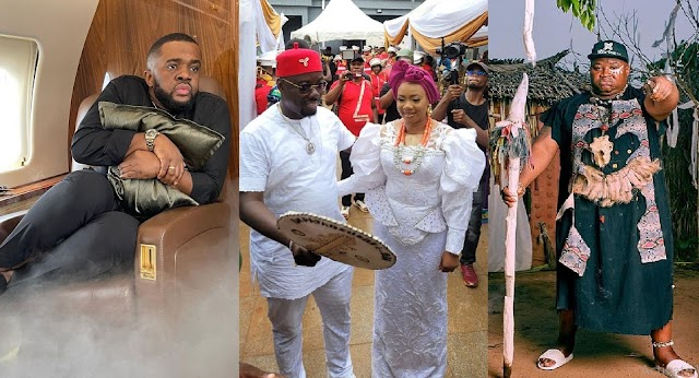 """""""Na ritualists i dey follow do Dorime"""" - Williams Uchemba reveals the state of his health a day after Obi Cubana mother's burial"""