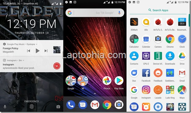 Software & Fitur Xiaomi Mi A1