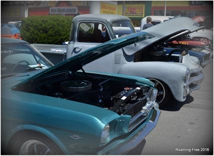 Classic Car Show Pose