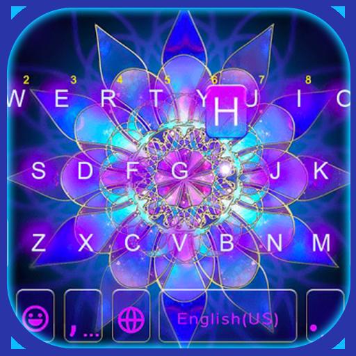 Sparkle Lotus Keyboard Icon