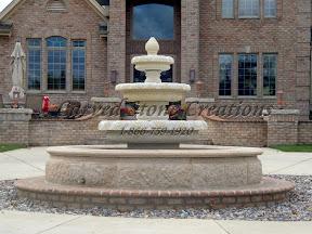 Fountain, Surround