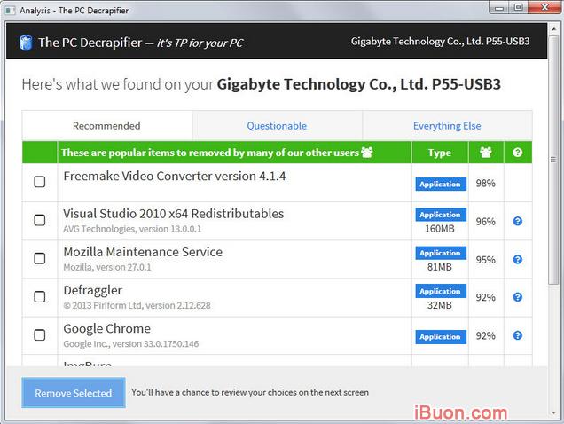 Tải và cài đặt phần mềm PC Decrapifier cho Windows + Hình 2