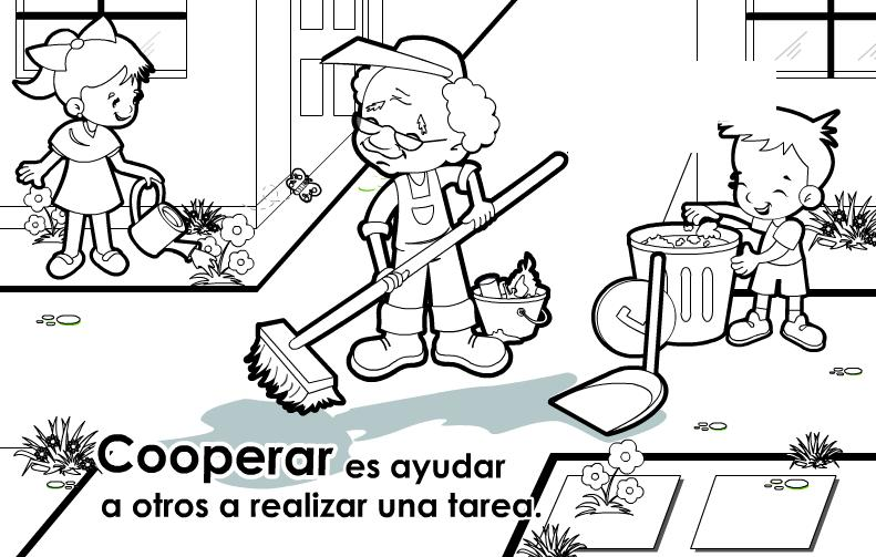 civica y etica Colouring Pages