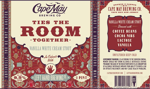 Image result for CAPE MAY TIES THE ROOM TOGETHER