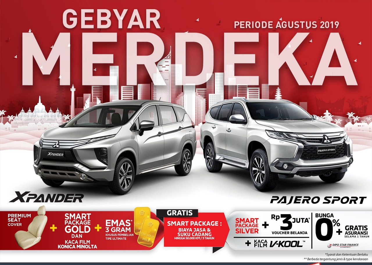 Gebyar Promo Mitsubishi Agustus