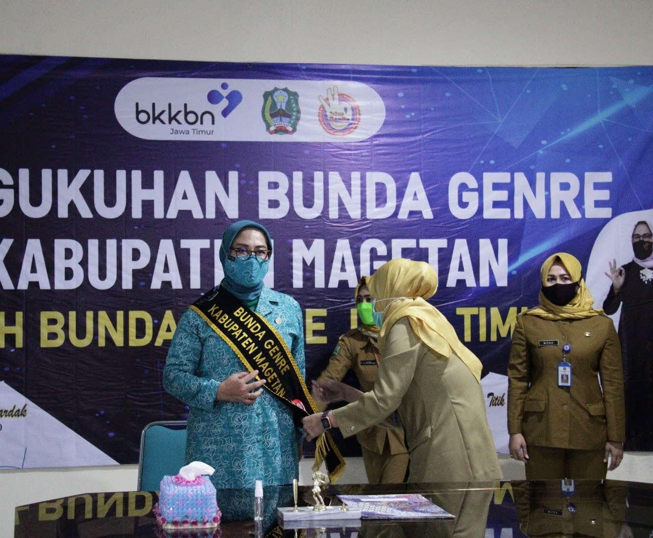 Titik Suprawoto Dikukuhan Sebagai Bunda GenRe Kabupaten Magetan
