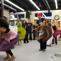 Photos from Afro-Cuban Therapy. Kati Hernandez Visits Atlanta