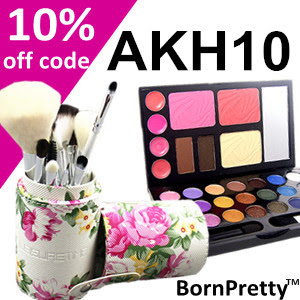 Get 10% off when you shop Born Pretty Store