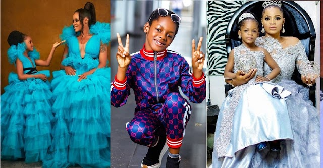 Thank You For Coming Into My Empty Life – Uche Ogbodo Celebrates Her First Daughter As She Turns 7