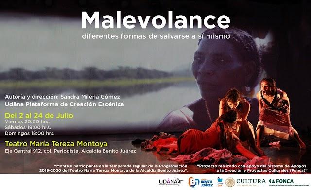 Malevolance, un acto de memoria y reconocimiento a quienes convierten el dolor en diferentes formas de salvarse a sí mismo.