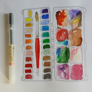 www.AliceDrawsTheLine.co.uk :: paintbox illustration