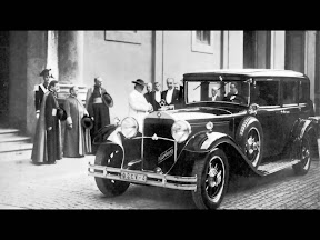 1930 Mercedes-Benz Nurburg 460 Popemobile
