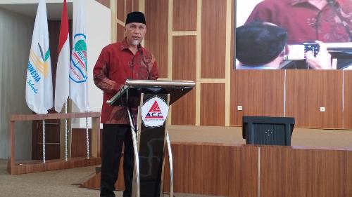 Hadiri Tasyakuran SMP IT Adzkia, Gubernur Ingatkan Pentingnya Hafal Alquran Membentuk Kepribadian Islami